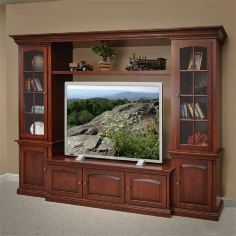 country entertainment centers heritage ave entertainment center amish handcrafted