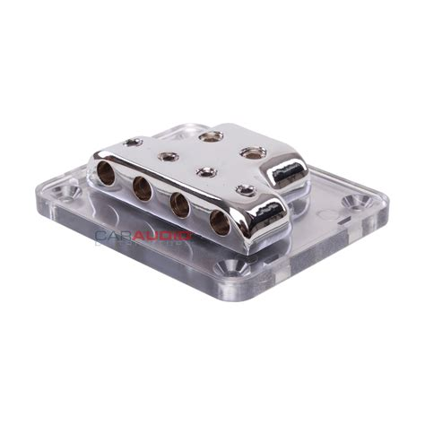Elegans Ground Block Power Distribution Audio 1 In 5 Out new stinger spd513 pro series 4 8 power ground distribution block ebay