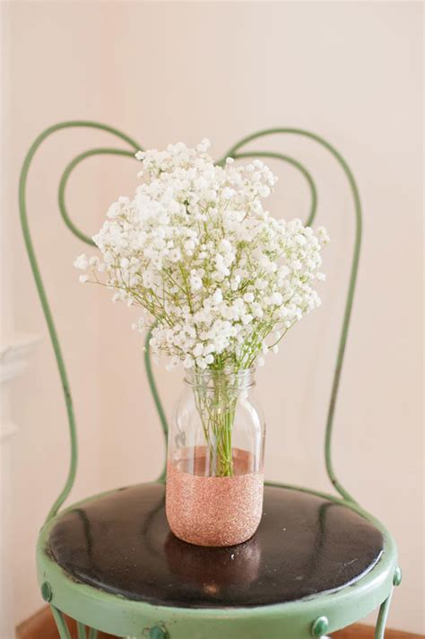 Diy Glitter Vases by Diy Glitter Vases The Sweetest Occasion The Sweetest