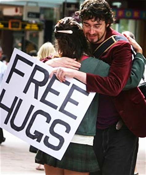 free hug guy free hugs seoul journalist on the run