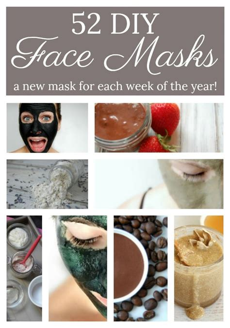 mask diy recipe 52 diy mask recipes diy mask masks and