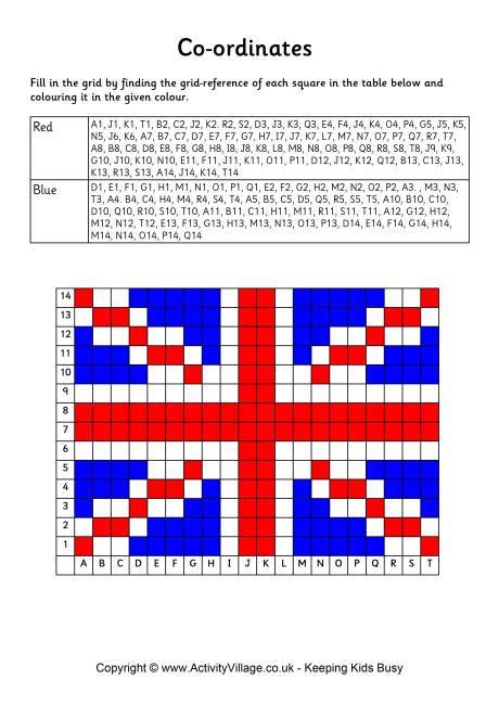 flags of the world quiz ks2 union flag coordinates worksheet