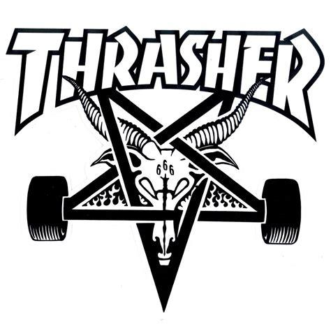 thrasher logo apparition skateboards