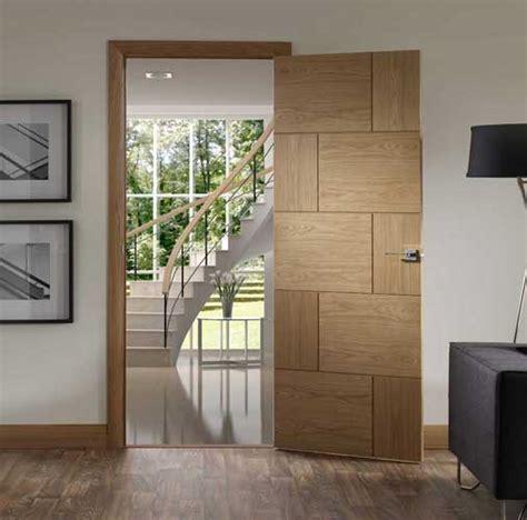 Contemporary Interior Doors Uk Oak Contemporary Doors Grooved Contemporary Oak Doors Modern Interior Oak Doors
