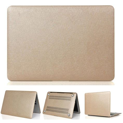Promo Gold Macbook 15 Gold Keyboard Free Dustplug free shipping three gifts っ notebook notebook cover gold silk surface surface for