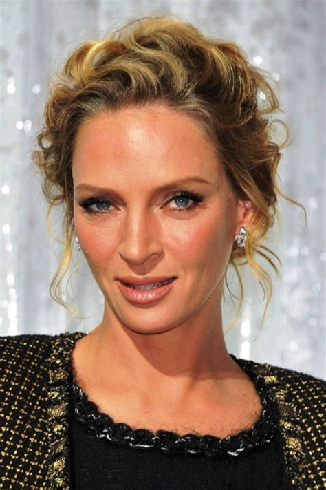 Uma Thurman Hairstyles by Uma Thurman Hairstyles Hair Is Our Crown