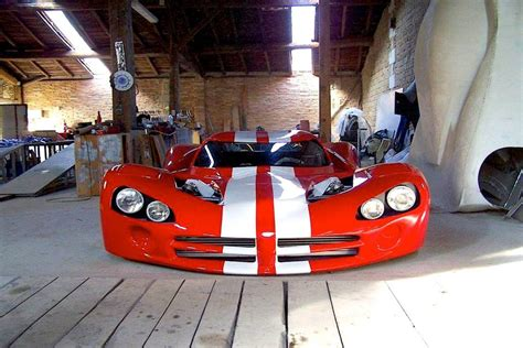 home built mid engine viper acr x looks home built