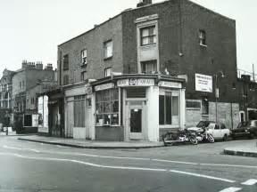 279 Vauxhall Bridge Road Shops In Grange Road Bermondsey 1960