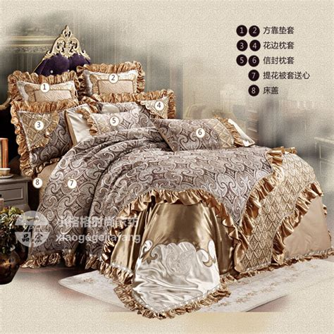 french bedding sets luxury bedding set wedding duvet cover thicker bed sheet