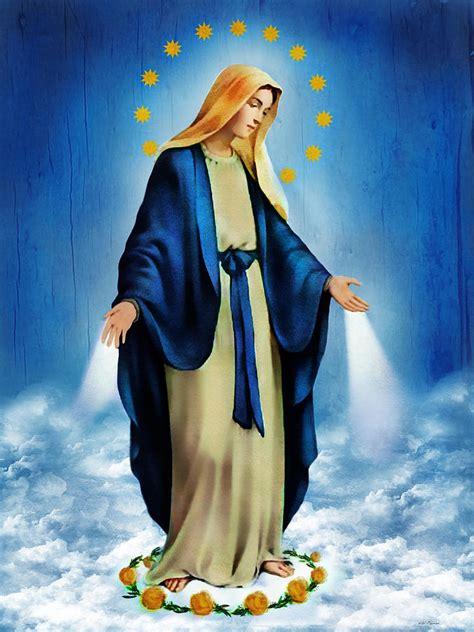 imagenes de la virgen maria la milagrosa virgen milagrosa by bibi romer