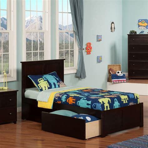 xl platform bed with storage shop atlantic furniture espresso xl platform