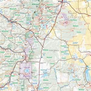 oregon road recreation atlas benchmark maps