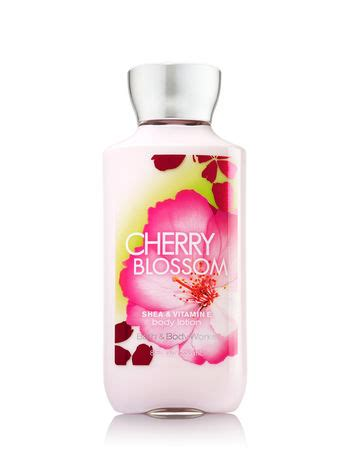 bed bath and bodyworks bed bath and bodyworks cherry blossom body lotion