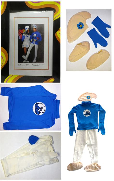 Vanity Smurf Costume by The Smurfs Carnival Costume Size