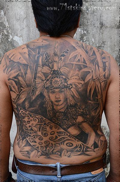 tattoo hunter indonesia 74 best borneo related tattoos images on pinterest