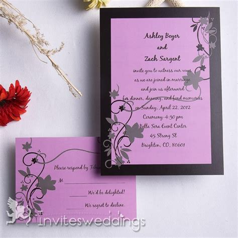 Inexpensive Modern Wedding Invitations by Inexpensive Modern Wedding Invitations Yaseen For