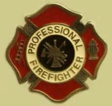 Quot Professional Firefighter Quot Heavy Cast Epoxy Inlay Buckle