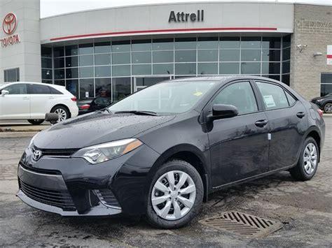 Attrell Toyota 2016 Toyota Corolla Le Black Attrell Toyota New Wheels Ca