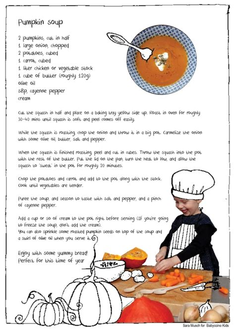 Kitchen Accessories Ideas The Little Things A Pumpkin Soup Recipe Babyccino Kids