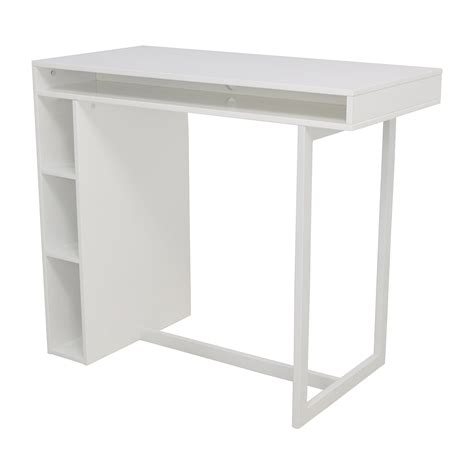 white high dining table 44 cb2 cb2 white high dining table with storage
