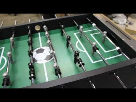 hbs foosball table assembly video youtube