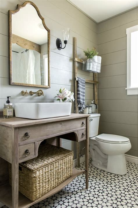 farmhouse bathroom vanity mirror farmhouse bathrooms and projects knick of time