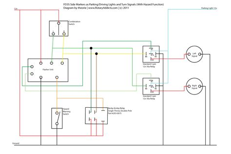 chevy turn signal relay wiring diagram get free image