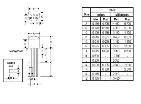 datasheet transistor ujt transistor ujt datasheet 28 images 2n2647 multicomp