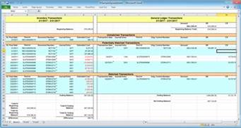 payroll reconciliation worksheet pictures to pin on