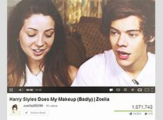 Zoella. — peazer: au crack!ship: harry styles + zoella... Zoella And Harry Styles Manip