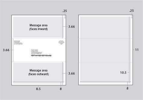 mailer format template click2mail templates