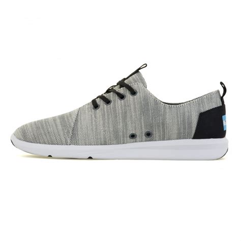 light grey mens shoes toms toms mens delray sneakers light grey toms from