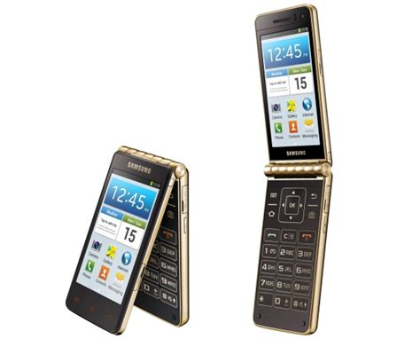 android flip phone samsung india launches galaxy golden android flip phone for inr 51 900