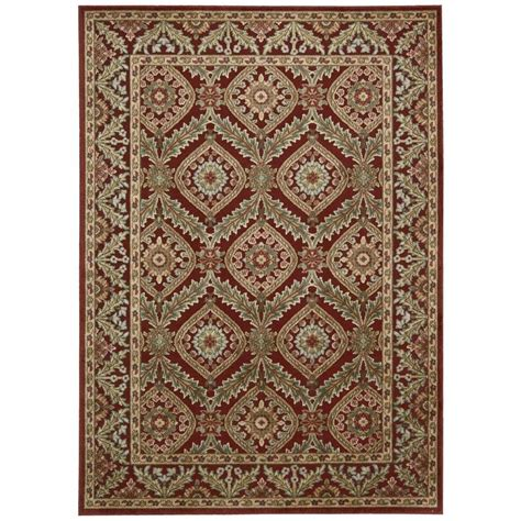 Overstock Area Rug Nourison Overstock Graphic Illusions 5 Ft 3 In X 7 Ft 5 In Area Rug 221711 The Home Depot