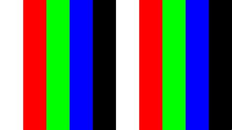 color test 4k 2160p uhdtv monitor test 10min bright dark color