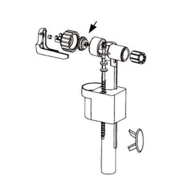 Membrane Robinet Flotteur by Membrane Insert Pour Robinet Flotteur 95l 95b Castorama