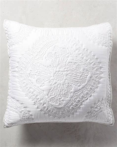 Sham Pillow Covers by Anthropologie Peonia Sham Pillow Cover Buyma