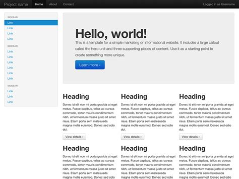 twitter bootstrap layout exles how material design sparked evolution of web design