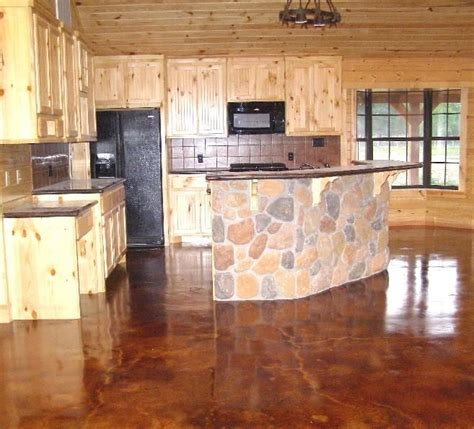 Stained Concrete Houston   Kitchens   Pinterest   Stained