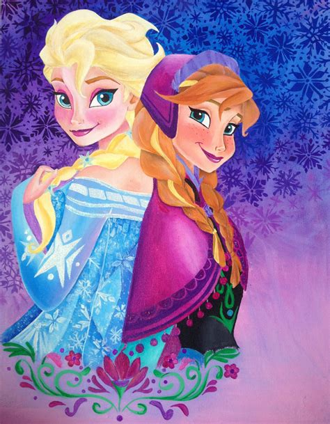 painting elsa and frozen elsa painting by chloesmith8 on deviantart