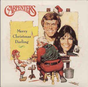 carpenters merry christmas darling  cd discogs