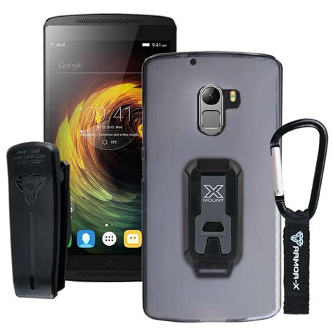 Casing Rugged X Armor Lenovo Vibe K4 Note Dual Hybrid Ipaky Verus lenovo vibe x3llite k4 note a7010 tpu protective with belt clip and carabiner armor x