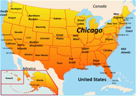 map us chicago chicago map us
