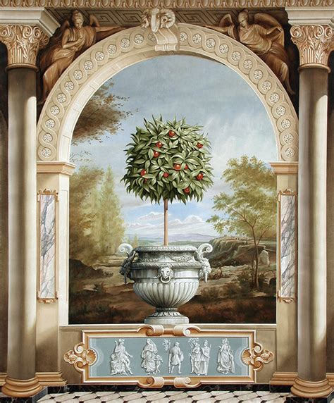 wall murals painting decorative imaging works murals