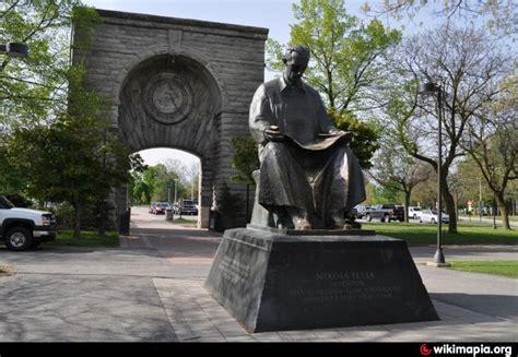 Tesla Falls Statue Of Nikola Tesla Niagara Falls New York