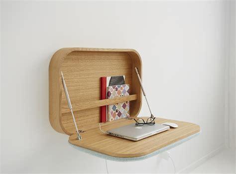 scrivania a muro ribaltabile nubo il contenitore da parete diventa un comodo