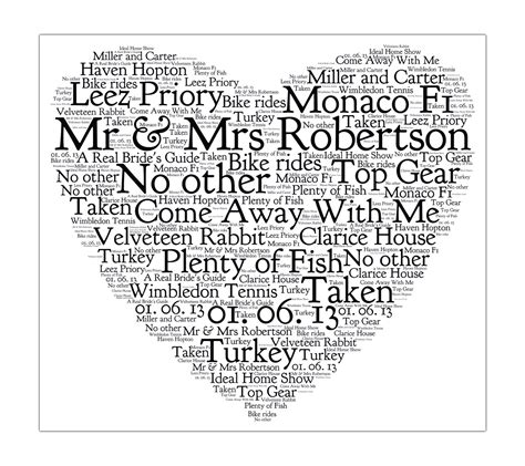 Wedding Anniversary Words by I Wedding Anniversary Gifts By Milly S Cottage And