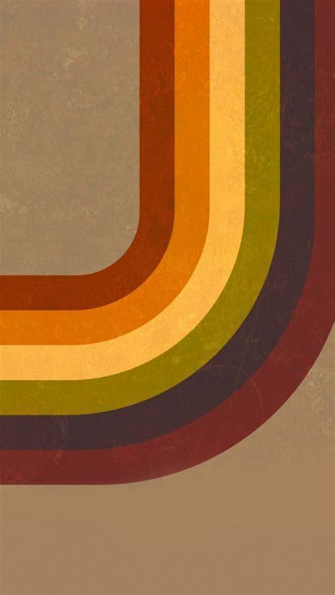 Retro Stripes   iPhone Wallpaper