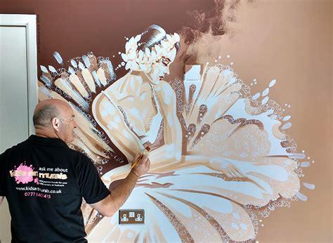 ballerina wall mural ballerina bromley murals