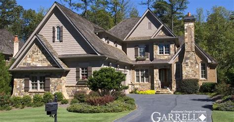 pin by garrell associates incorporated on luxury house garrell associates inc chastaine house plan 99139 front